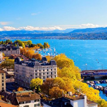 Schweizer Metropole Zürich
