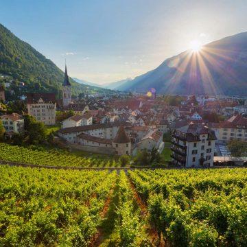 Wein Berge in Chur