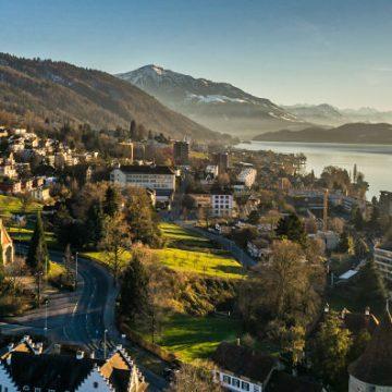 Grandioser Ausblick über die Stadt Zug