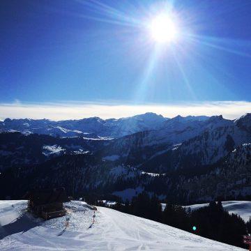 Auf den Gipfel im Gstaad