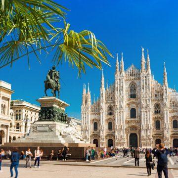 Mailand im Sommer
