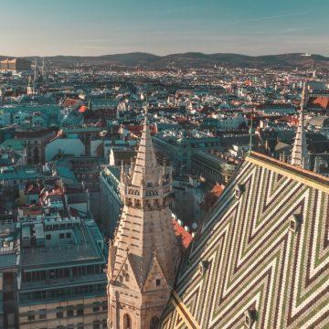 Escortservice in Wien mit Blick über die Stadt